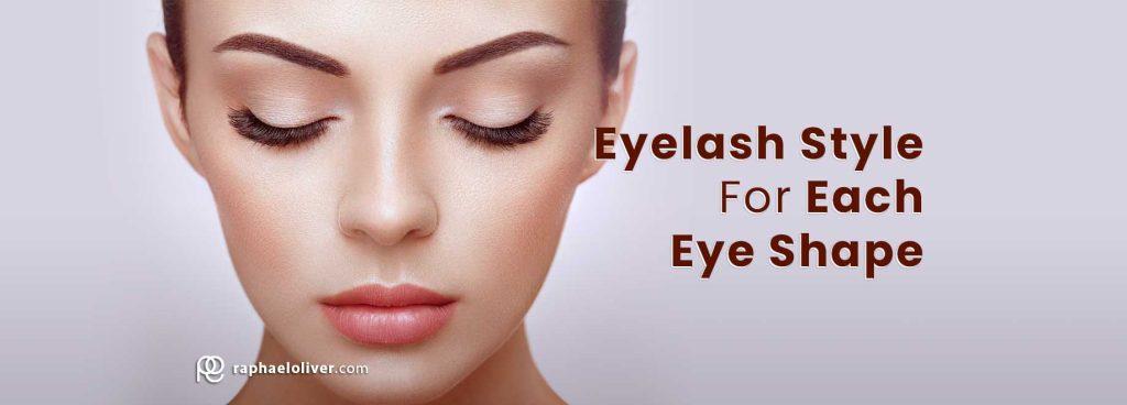 Eyelash Style For Each Eye Shape