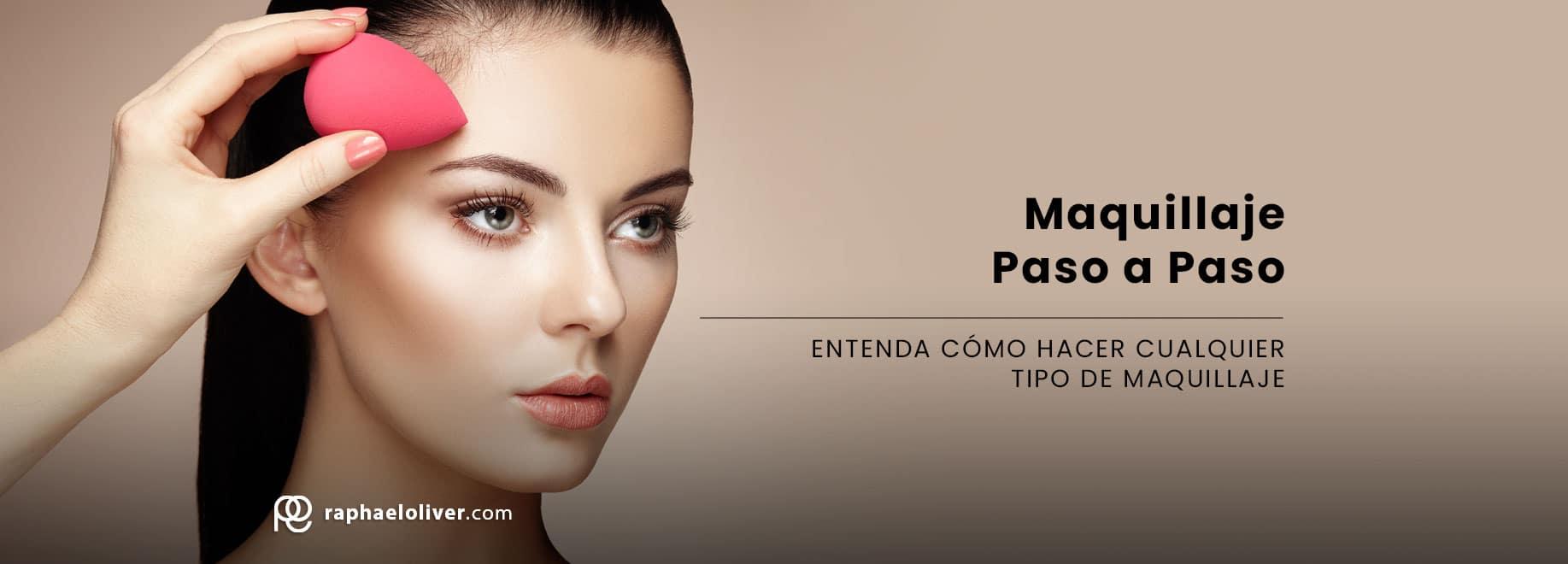 Maquillaje paso a paso: comprende como hacer qualquer maquillaje