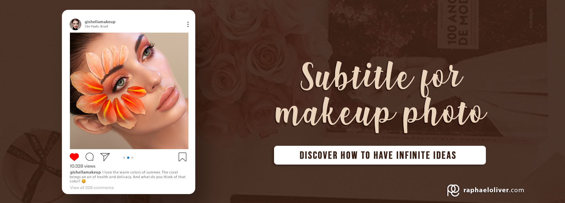 9 caption tips for makeup photo: See how to use it to interact in the best way.