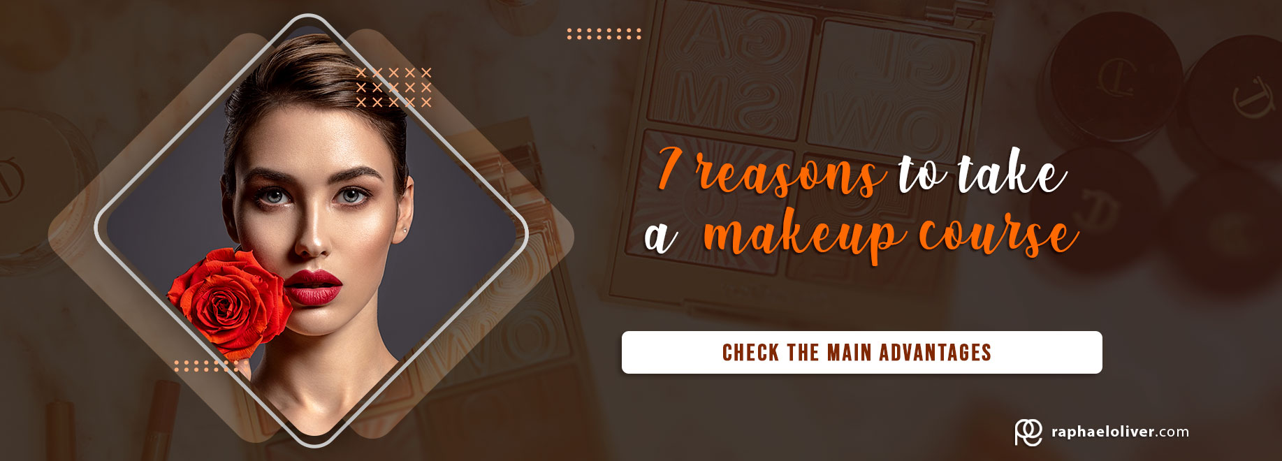 7 reasons to take a professional makeup course. See the main advantages.