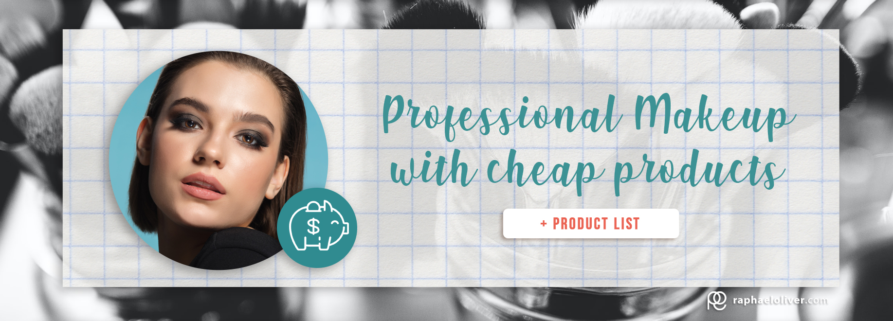 Professional makeup with cheap products