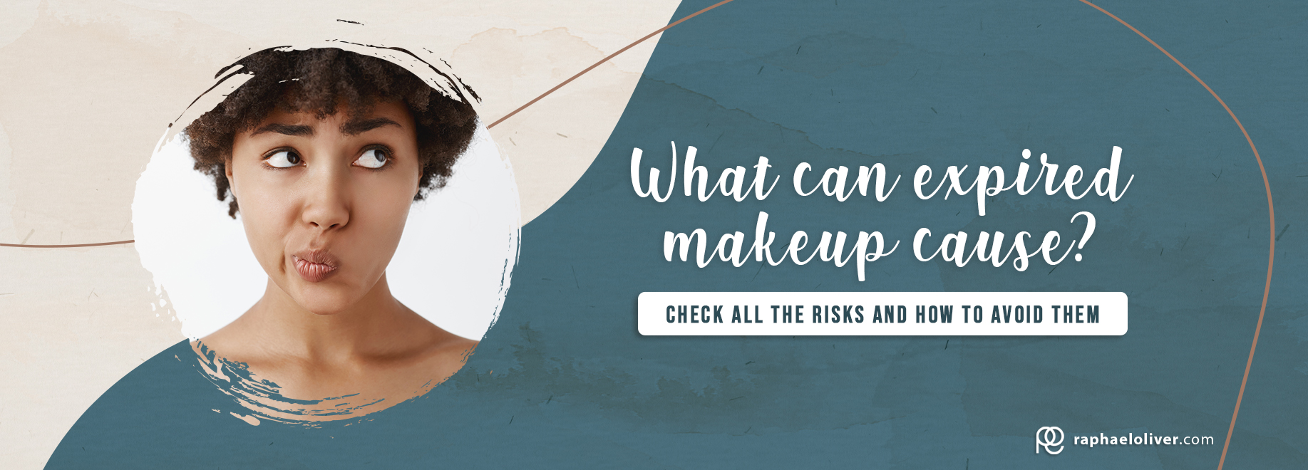 What can expired makeup cause?